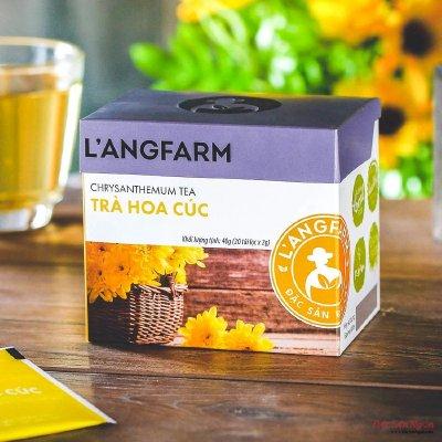 Trà Hoa Cúc Túi Lọc Langfarm, Hộp 20 Tép - DS067