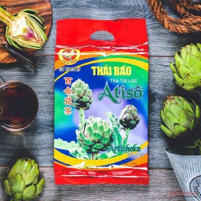 Trà Atiso Túi Lọc Thái Bảo 100 Tép, Mẫu Truyền Thống - DS050