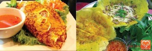 Bánh xèo ốc gạo