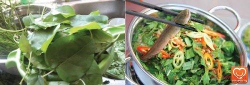 Canh chua lá giang