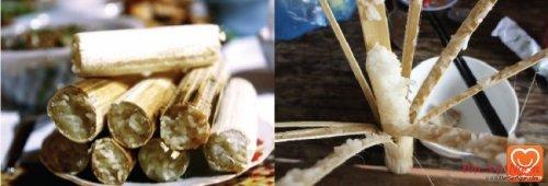 Cơm nướng ống (cơm lam)