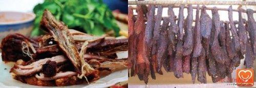 Thịt treo gác bếp