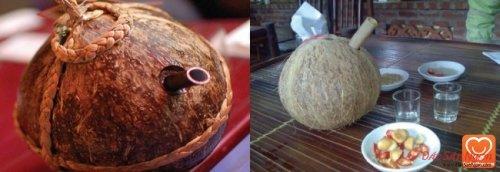 Rượu dừa Tiên Tửu Ngọc Hoa (Yên Lạc)