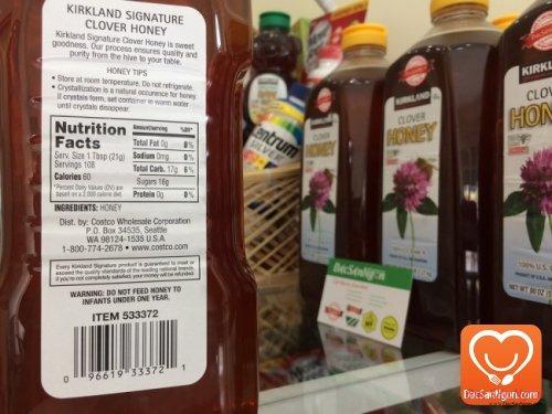 Thông tin Mật ong Mỹ Kirkland Clover Honey 2.27kg USA