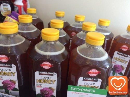 Mật ong cỏ ba lá USA - Mật ong Mỹ Kirkland Clover Honey 2.27kg USA