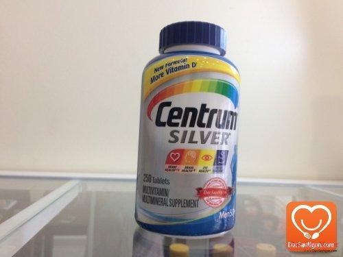 Centrum® Silver® Ultra Men's Multivitamin Multimineral Supplement- Centrum cho nam giới trên 50 tuổi