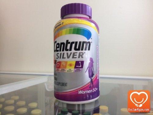 Viên uống Centrum Silver Ultra Women's 50 hàng nhập Mỹ chính hãng