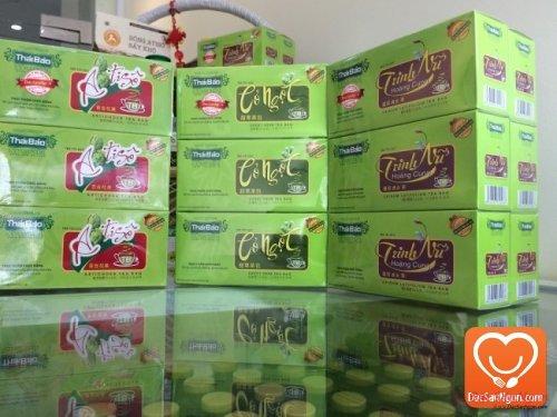 Trà Cỏ Ngọt túi lọc hộp 20 tép Thái Bảo đặc sản Đà Lạt