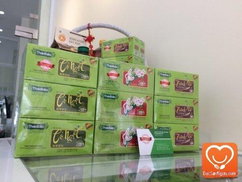 Cung cấp sỉ và lẻ Trà Cỏ Ngọt túi lọc hộp 20 tép Thái Bảo đặc sản Đà Lạt giá sỉ