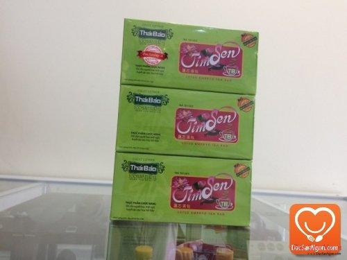 Trà Tim Sen túi lọc hộp 20 tép thương hiệu Thái Bảo