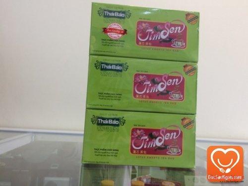 Trà Tim Sen túi lọc hộp 20 tép Thái Bảo đặc sản Đà Lạt