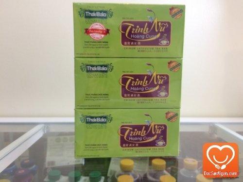 Trà Trinh Nữ Hoàng Cung túi lọc hộp 20 tép thương hiệu Thái Bảo