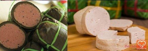 Cách làm giò lụa bằng máy xay thịt