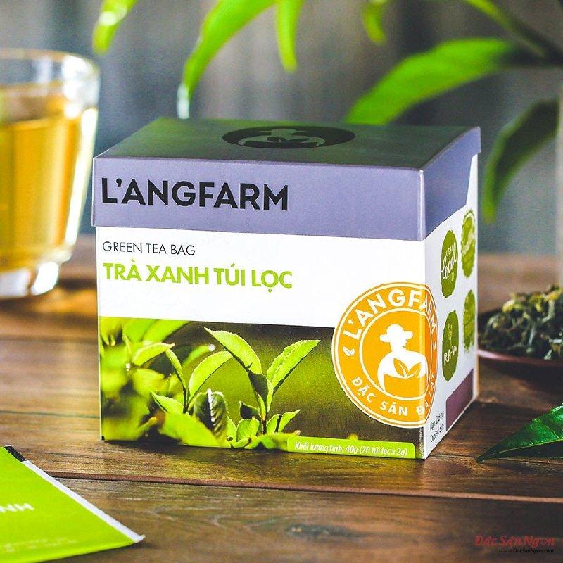 Trà Xanh Túi Lọc Langfarm, Hộp 20 Tép - DS070